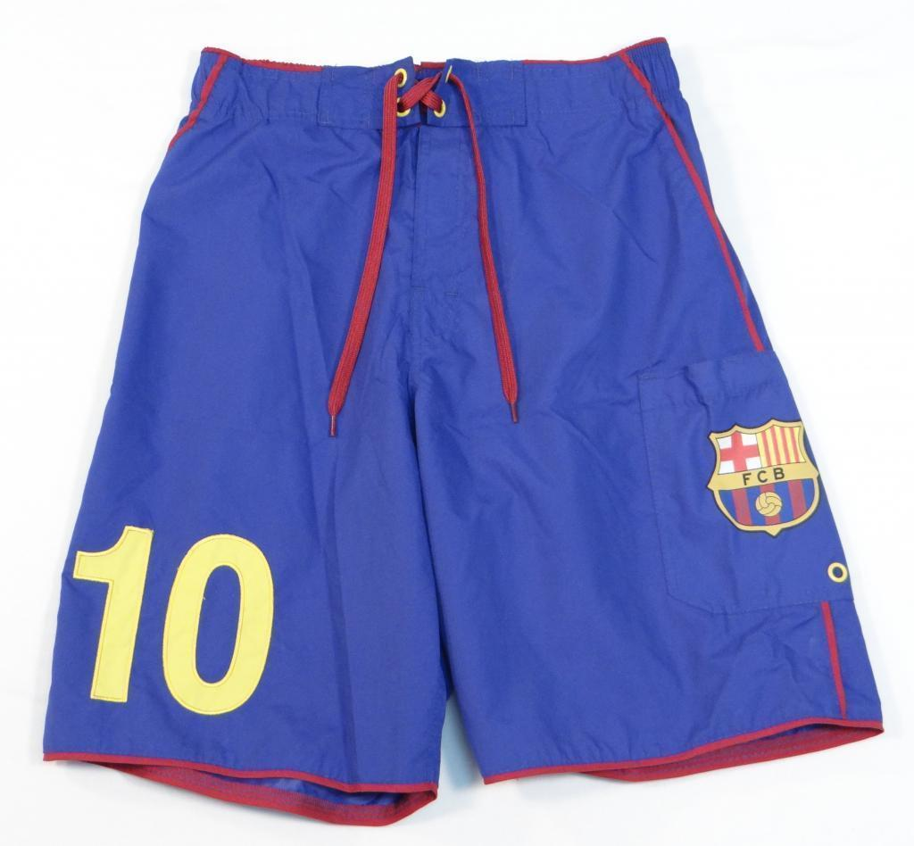 FC Barcelona Childrens Boxer Shorts Grey Set of 2 Official Licensed Blue
