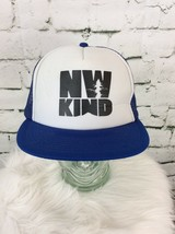 NW Kind Vented Snapback Blue White Otto Hat Cap - $14.84
