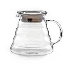 Hiware 600ml Coffee Server, Standard Glass Coffee Carafe, Coffee Pot, Clear - $17.51