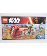 Lego Star Wars Ep 7 Force Awakens 75099 Rey's Speeder New in Sealed Box - $59.35