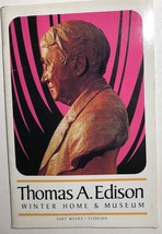 THOMAS A. EDISON WINTER HOME & MUSEUM (36 pages) Fort Myers, FL illustra... - $9.89