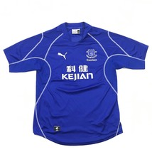 PUMA Everton FC Soccer Jersey Size L Large 2003 Official Replica England Futball - $29.55
