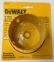 "Dewalt DW1851 2-3/4"" Bi-Metal Deep Cut Hole Saw USA - $4.70"
