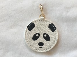 ESTEE LAUDER Panda Charm for Bag/Zipper Pull/Key Faux Leather Clip On - $6.99