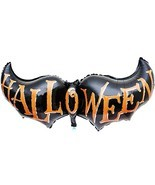New Halloween Decorative Foil Balloons Halloween Clothing Scary Costumes... - $5.97