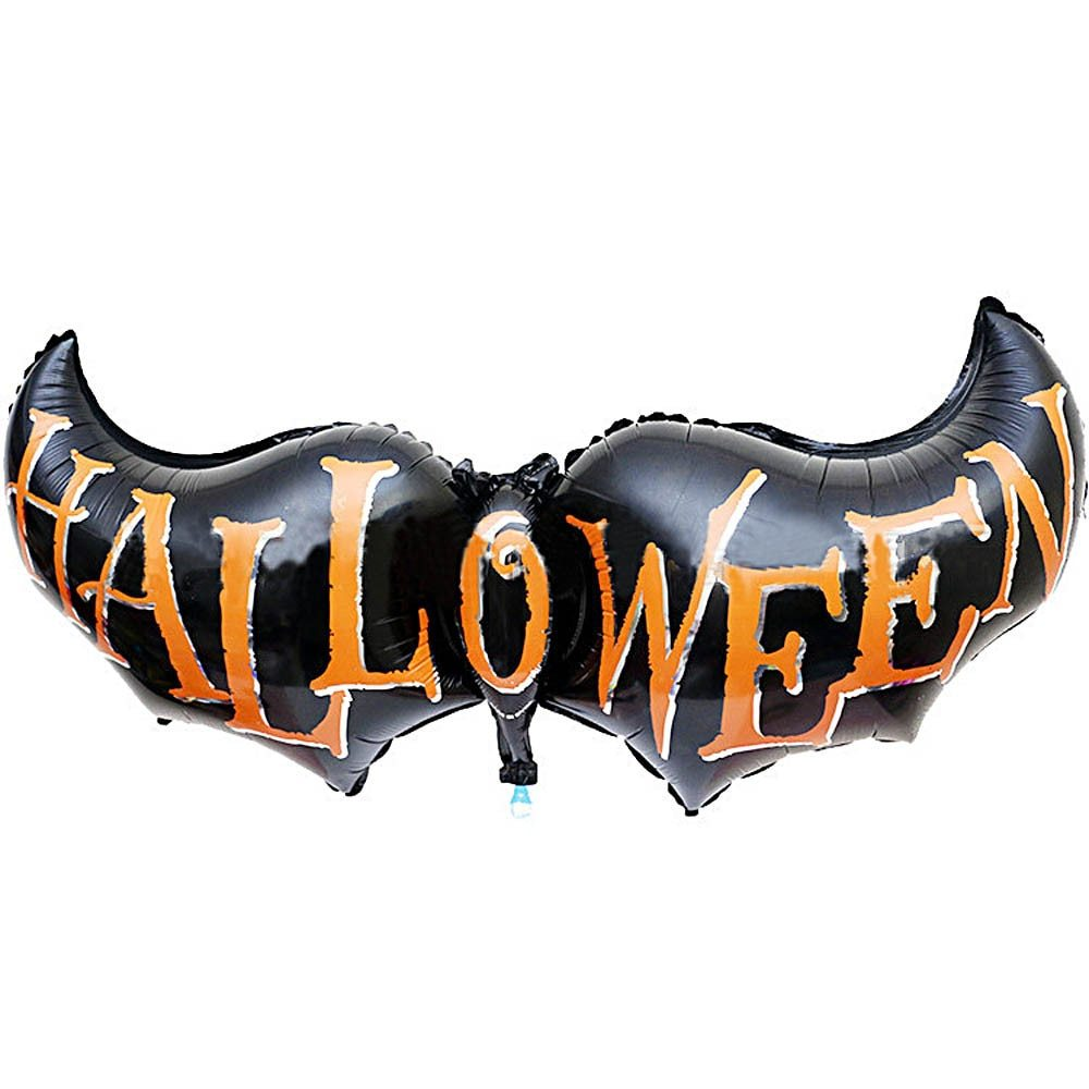 Ative foil balloons halloween clothing scary costumes bat wings decorative foil balloon hot sale