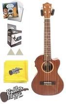 Lanikai MAS-CET Solid Mahogany Acoustic Electric Tenor Ukulele with Case... - $374.00