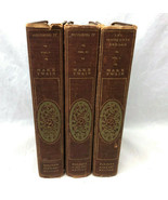 Mark Twain Harper's Library Edition Vintage Book Lot Roughing It 1&2 Inn... - $29.69