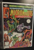 #25 The Micronauts 1980 Marvel Comic Book D390 - $4.46