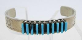 VTG RL Sterling Silver Blue Faux Turquoise Cuff Bracelet 14 grams - $99.00