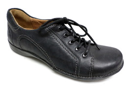 CLARKS Unstructured Black Oxfords Size 5 Sneakers Walking Shoes - $22.50