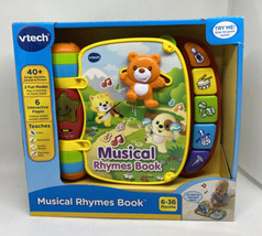VTech 80166700 Musical Rhymes Educational Book for Babies - $27.64