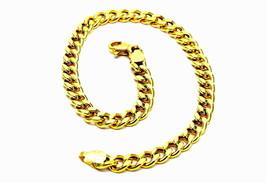 BRACELET YELLOW GOLD 18KT MAN WOMAN GRUMETTA - $733.06