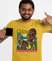 Werewolf by Night T Shirt classic 1970s marvels Legion of Monsters graphic tee image 3