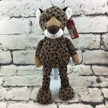 """VTG Russ Berrie CHASE Leopard Cheetah Plush 12"""" Floppy Beanbag Stuffed T... - $19.79"""