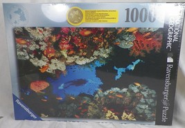 New 2007 Sealed National Geographic Ravensburger 1000 Piece Puzzle Coral Reef A1 - $29.99