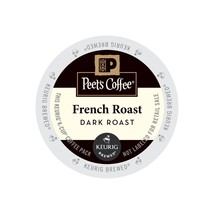 Peet's Coffee French Roast Coffee, 44 Kcups, FREE SHIPPING  - $39.99