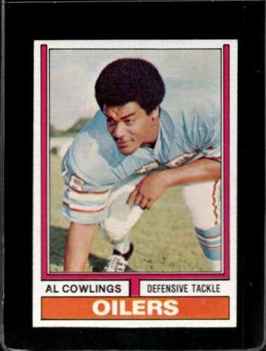 1974 TOPPS #501 AL COWLINGS EXMT OILERS UER  *X2315