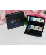 New Shiseido Cle De Peau Beaute Eye Shadow Color Quad #5 Blue Green & Hi... - $35.99