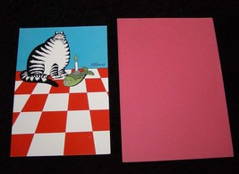 Kliban Cat Greeting Card Hallmark Shoebox Greetings 1983 - $14.99
