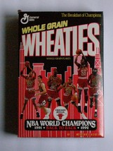 (Factory Sealed) 1991 - 1992 Chicago Bulls Wheaties Cereal Box - $195.95