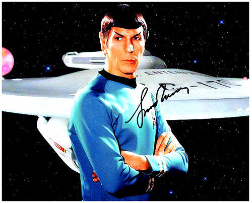 Primary image for LEONARD NIMOY  Authentic Original  SIGNED AUTOGRAPHED PHOTO W/COA