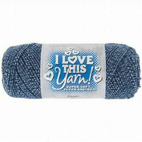 I Love This Yarn in Marled Denim #1627710