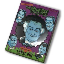 An item in the Entertainment Memorabilia category: The Munsters Grandpa Enamel Lapel Pin Collectible Authentic Retro-A-Go-Go NEW