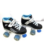 Roller Derber Blazer Roller Skates Youth Boys Sz. 2 Lighted Wheels Front... - $32.71
