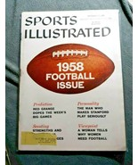 Sports Illustrated September 22 1958 Football Issue Red Grange  - $15.83