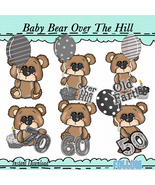 Buggy Bears Over The Hill Clip Art - $1.35