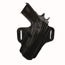 Tagua Premium Open Top Belt Holster SandW MandP 9mm - Black - $72.51