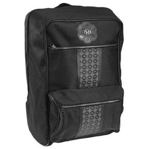 "Billionaire Mafia Large 20"" Black BM Insignia Backpack School Book Overnight Bag"