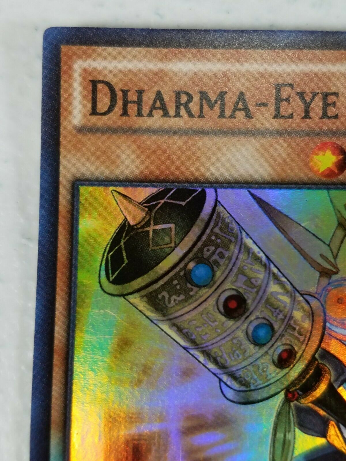 Yu-gi-oh! Trading Card - Dharma-Eye Magician - BOSH-EN096 - Super Rare - 1st Ed.