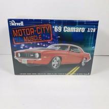Revell 1969 Camaro Z/28 Motor City Muscle Car #85-2148 Model 1:25  NIB Sealed - $28.17