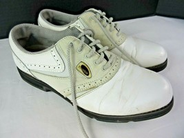 Footjoy SoftJoys Terrains Women's Size 7M Soft Leather White Golf Shoes  - $14.01