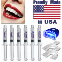 44% Teeth Tooth Whitening Whitener Bleaching Professional Kit White Gel Light - $12.95