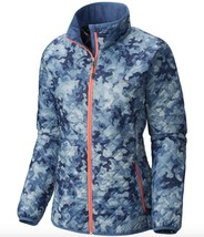 Columbia Womens Dualistic Insulated Jacket size MEDIUM Bluebell Camo Print - $74.96