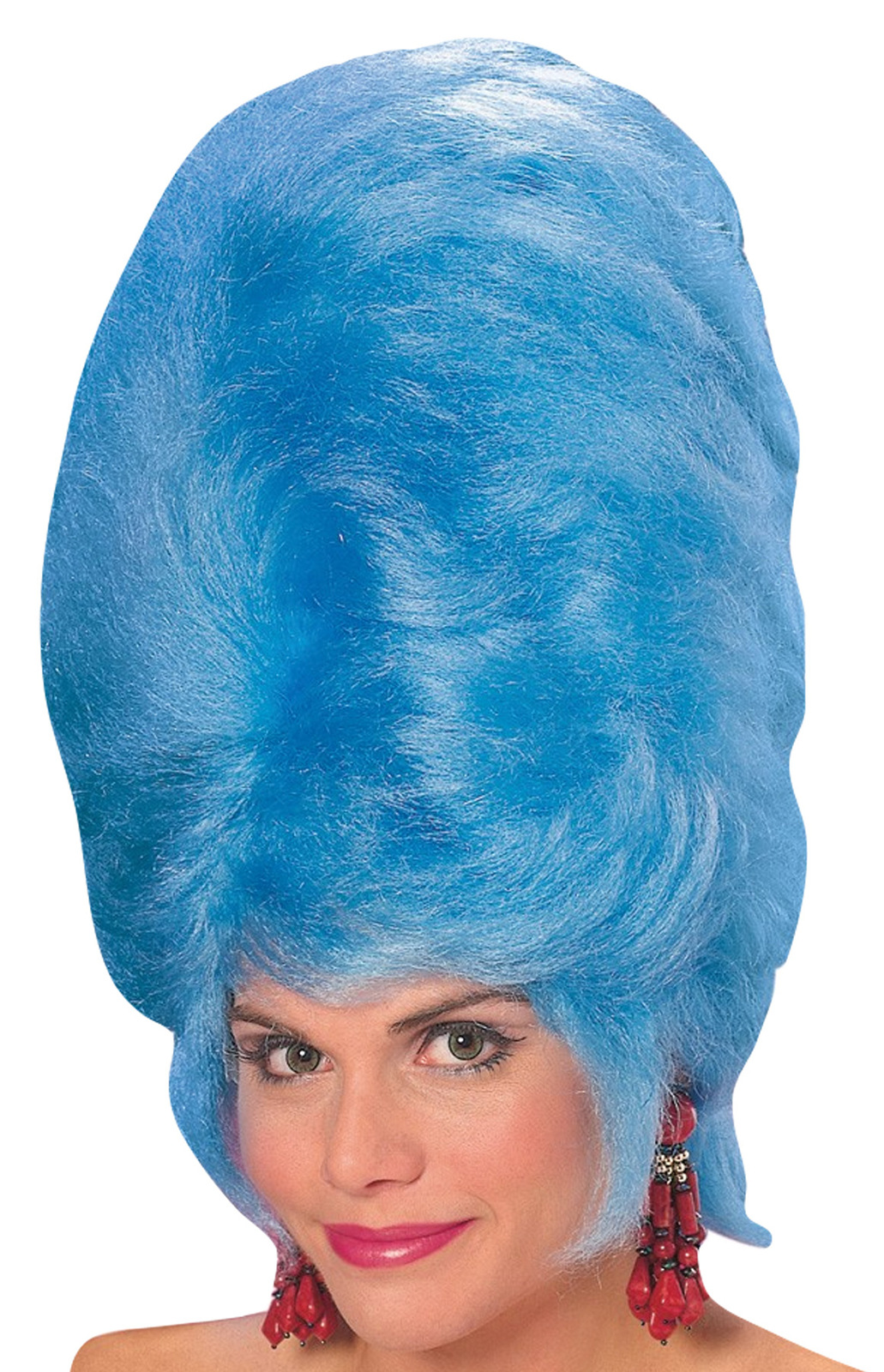 CHARACTER COSTUME WIG MARGE SIMPSON BLUE
