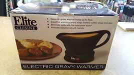 Elite Cuisine 1 Station Electric Gravy Warmer Sauce Pot New with Lid -Se... - $17.64