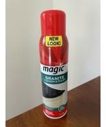Magic Granite Cleaner & Polish Aerosol Spray Marble Quartz 17 oz Discont... - $29.69