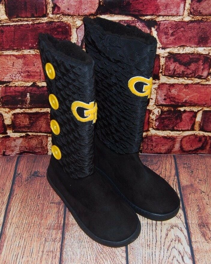 Primary image for NCAA Women's GA Tech Yellow Jackets Button Boots - 9/10 (Fits 7/8)