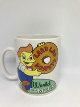 universal studios coffee cup mug the simpsons lard lad donuts world famo... - $24.15