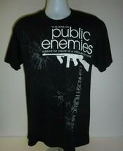 Era of Public Enemies Oshkosh Wisconsin Public Museum T-Shirt Medium C-6 - $9.74