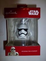 Hallmark Disney Star Wars Storm Trooper Helmet Christmas Tree Ornament New - $9.89