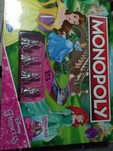 Monopoly Game Disney Princess Edition New - $11.99