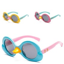 Children Polarized Sunglasses Girls Duckling Cartoon Sun Glasses Anti UV... - $13.15