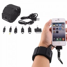 Band Charger External Power Bank USB Battery Chargers For iPhone Nokia N... - $35.99