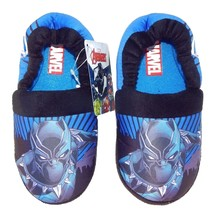 BLACK PANTHER MARVEL AVENGERS Boys Plush House Slippers NWT Toddler's Si... - $14.84+