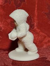 """White 4"""" Department 56 Snowbabies Marching with Accordion Figurine  image 4"""